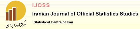 Ijoss Iranian Journal of Official Statistics Studies